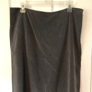 Mossimo Supply Co. Skirts - Mossimo by Target gray unlined spandex skirt